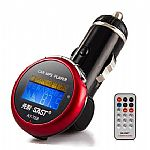 4G USB  Car MP3 Player -With Car Audio FM Transmitter Remote Control